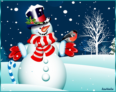 Снеговик (450x358, 212Kb)