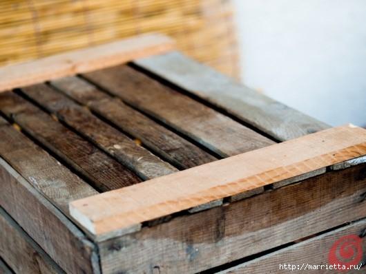 Деревянный ящик в интерьере (13) (530x398, 120Kb)
