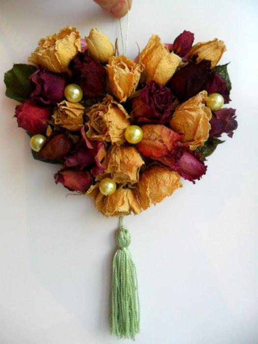 Своими руками композиции из сухих цветов