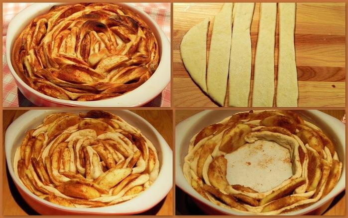 слоеный яблочный пирог (700x437, 123Kb)