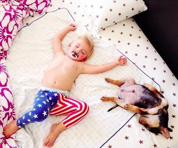 смешные фото детей и животных 2 (570x474, 213Kb)