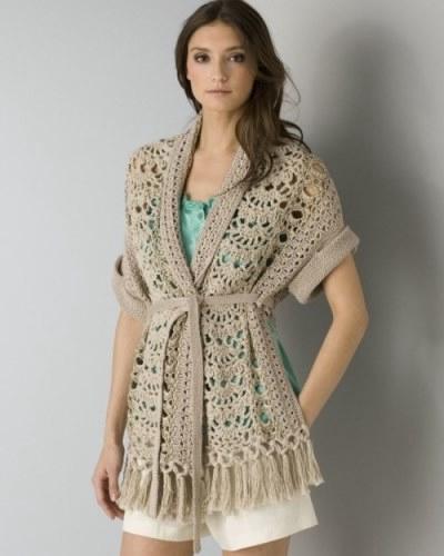 Оригинальный шарф - жилет