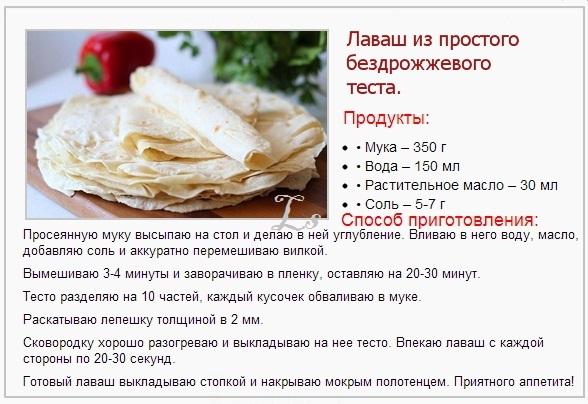 Тесто для лаваша в хлебопечке рецепт пошагово