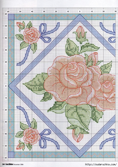 Ribbons and Roses3 (494x700, 425Kb)