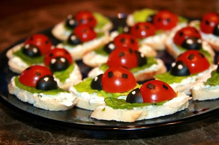 Маленькие бутерброды для фуршета рецепты с фото