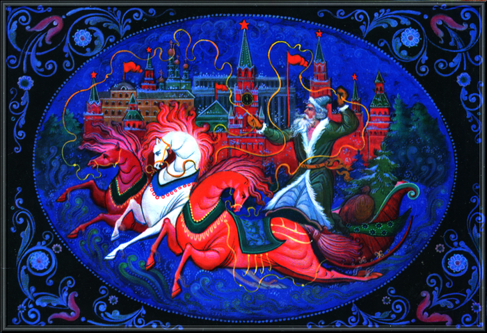 USSR New Year Postcard (2) (700x479, 652Kb)