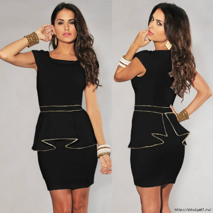 1M_L_XL_Plus_Size_Dress_2013_New_Fashion_Women_Black_White_Vintage_Gold_Edge_Peplum.jpg (700x700, 201Kb)