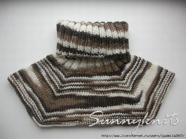 Вязание манишка для мужчины схема вязания спицами