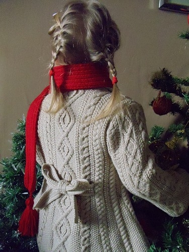 Пальто с аранами для девочки до 4-х лет (2) (375x500, 153Kb)