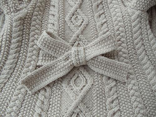Пальто с аранами для девочки до 4-х лет (8) (500x375, 188Kb)