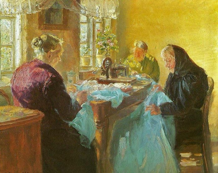 Anna_Ancher_(Danish_painter,_1859-1935)_Sewing_a_Dress_for_a_Costume_Party_1920 (700x556, 129Kb)
