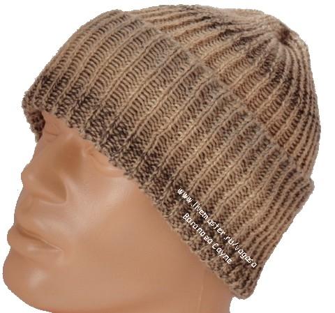 мужская шапка коричневая  (480x449, 145Kb)