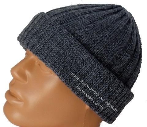 мужская шапка вязаная  (480x416, 138Kb)
