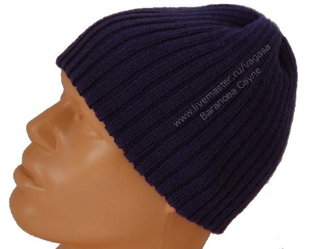 теплая мужская шапка (640x513, 132Kb)