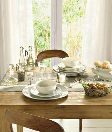 Сервировка стола для завтрака (365x430, 30Kb)