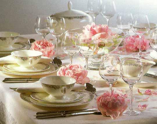 Сервировка стола для ужина (540x426, 30Kb)