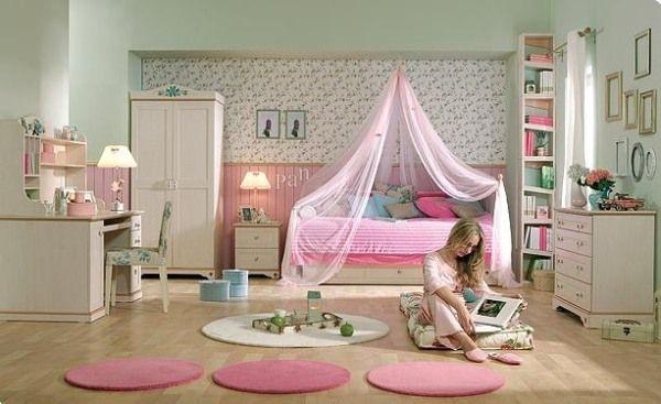 Дизайн интерьера. Комната для девочки-подростка (4) (600x367, 109Kb)