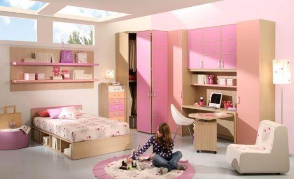 Дизайн интерьера. Комната для девочки-подростка (6) (600x366, 96Kb)