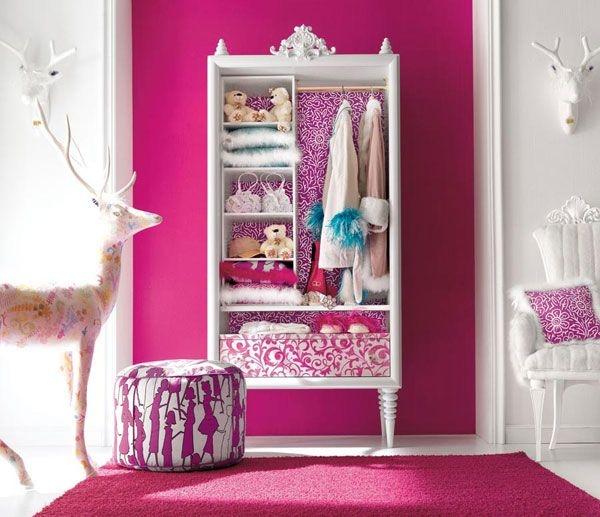 Дизайн интерьера. Комната для девочки-подростка (8) (600x517, 161Kb)