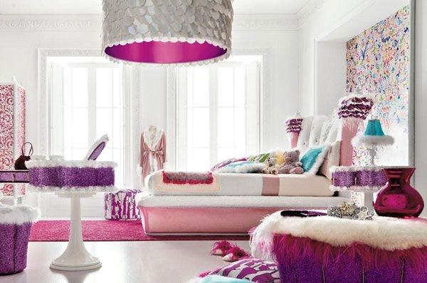 Дизайн интерьера. Комната для девочки-подростка (10) (600x397, 131Kb)