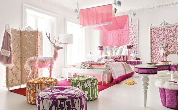 Дизайн интерьера. Комната для девочки-подростка (12) (600x372, 133Kb)