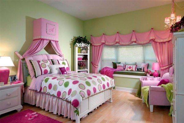 Дизайн интерьера. Комната для девочки-подростка (14) (600x401, 141Kb)