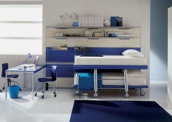 Дизайн интерьера. Комната для девочки-подростка (38) (582x412, 90Kb)