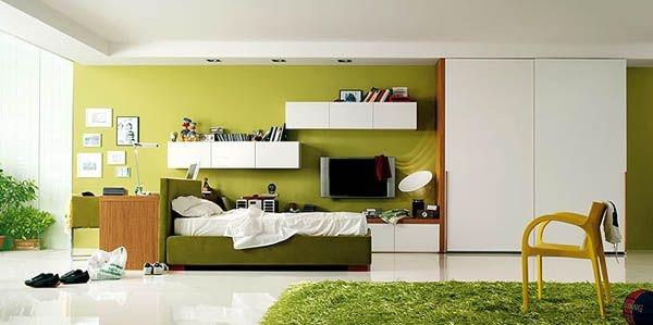 Дизайн интерьера. Комната для девочки-подростка (43) (600x299, 86Kb)