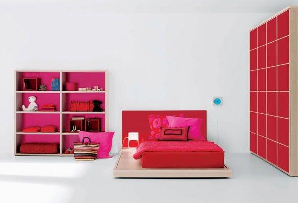 Дизайн интерьера. Комната для девочки-подростка (45) (600x408, 68Kb)