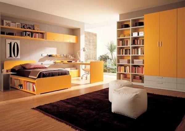 Дизайн интерьера. Комната для девочки-подростка (49) (600x425, 105Kb)