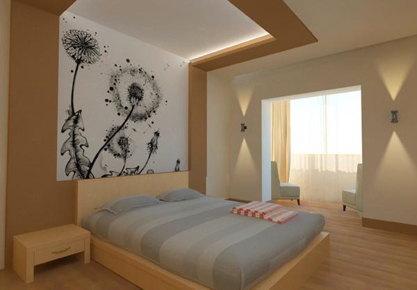 красивый дизайн спальни 1 (600x418, 227Kb)