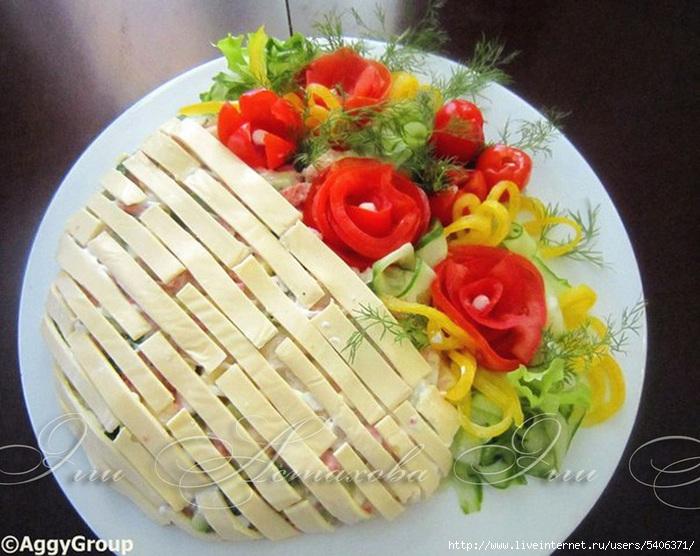Корзинки для салатов фото