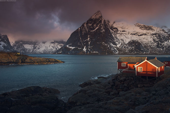 Лофотенские острова норвегия 1 (670x447, 195Kb)