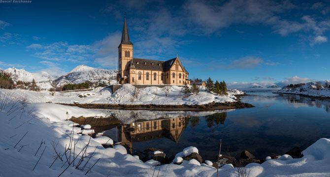 Лофотенские острова норвегия 5 (670x360, 201Kb)