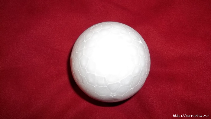 Текстильный елочный шар в технике йо-йо. Мастер-класс (14) (700x393, 144Kb)