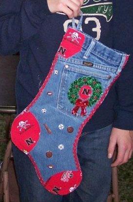 Media de Navidad de viejos pantalones vaqueros (11) (273x416, 89Kb)
