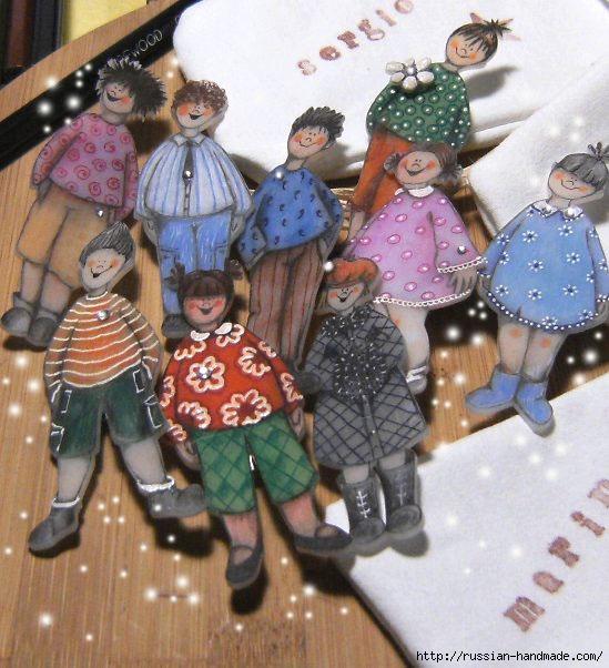 Веселые человечки для создания детских композиций (3) (549x602, 209Kb)