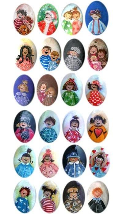 Веселые человечки для создания детских композиций (7) (388x700, 176Kb)