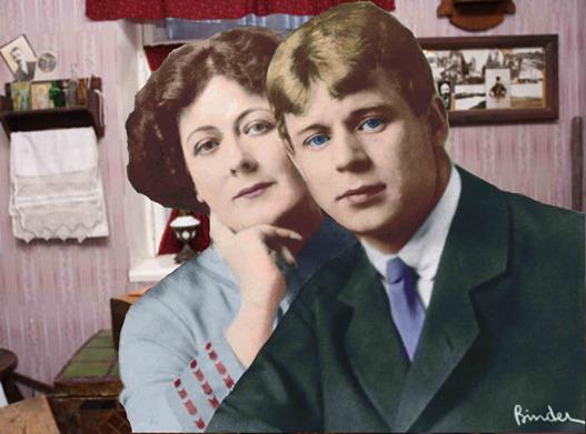 СЕРГЕЙ ЕСЕНИН и АЙСЕДОРА ДУНКАН. 1923 Esenin and Isadora Dunkan (2) (527x391, 68Kb)