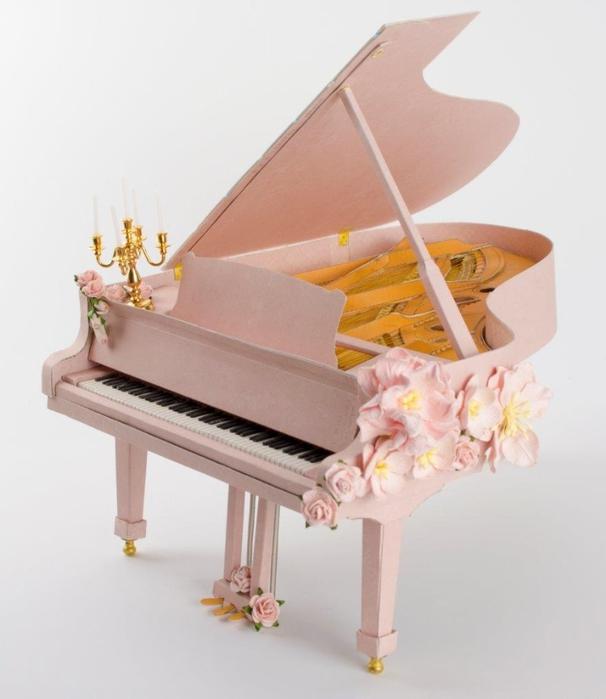 Креативный рояль из картона 107444224_ROYAL_iz_kartona_SHablon_dlya_raspechatki_na_printere__3_
