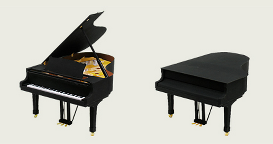 Креативный рояль из картона 107444234_ROYAL_iz_kartona_SHablon_dlya_raspechatki_na_printere__11_