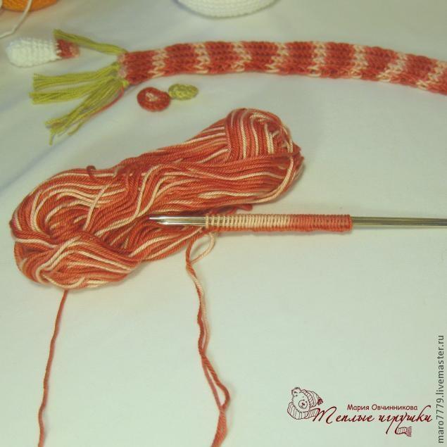 Вязание крючком шарфика для начинающих в