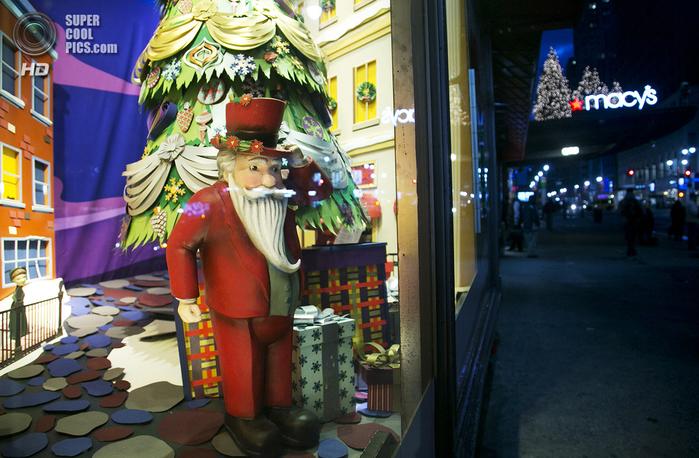 рождественские витрины фото 1 (700x458, 450Kb)