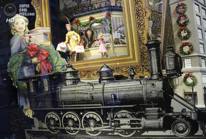 рождественские витрины фото 5 (700x472, 517Kb)
