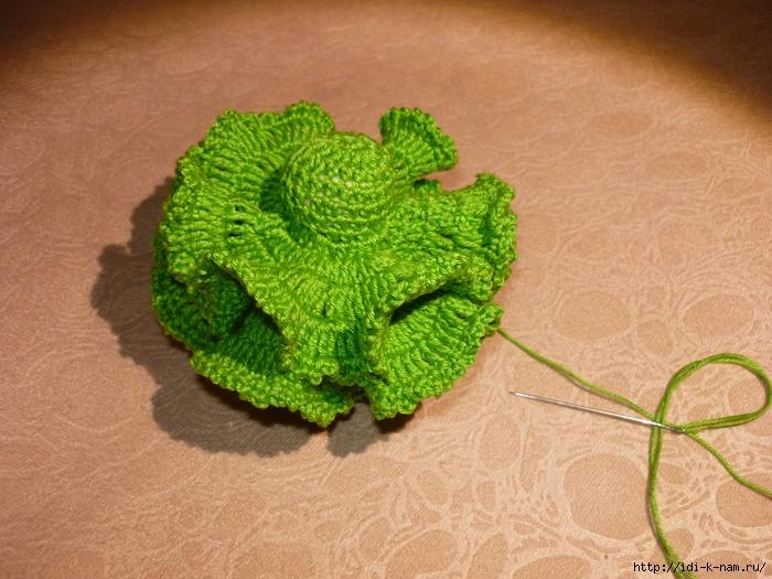 вязаная елочка,  как связать елочку, схема вязания елочки Хьюго Пьюго,