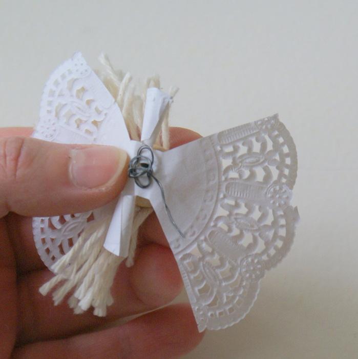кружевные ангелочки из бумаги своими руками летних