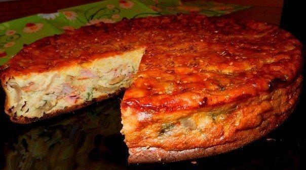 пирог с курицей и грибами (604x335, 50Kb)