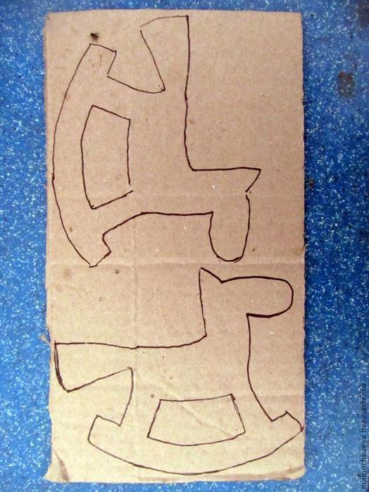 Сделать новогоднюю игрушку своими руками из картона