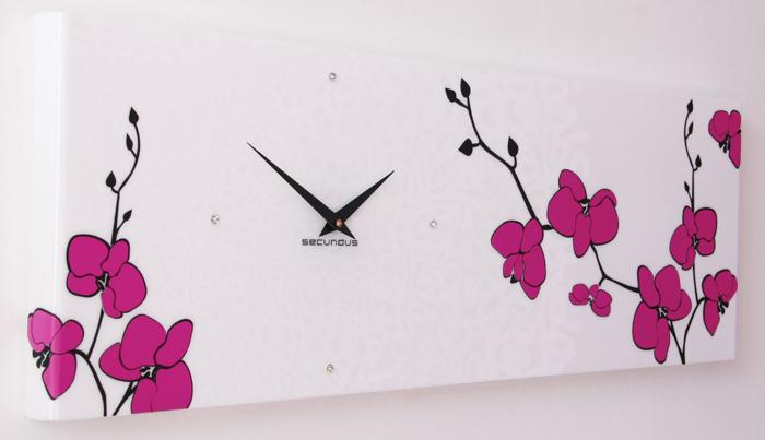 Часы с орхидеями своими руками - Современная школа