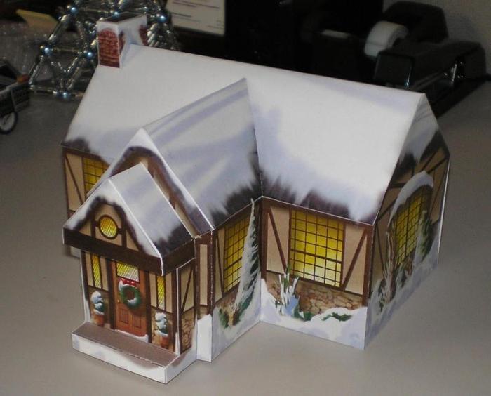 Как можно сделать из бумаги домик своими руками - Pressmsk.ru